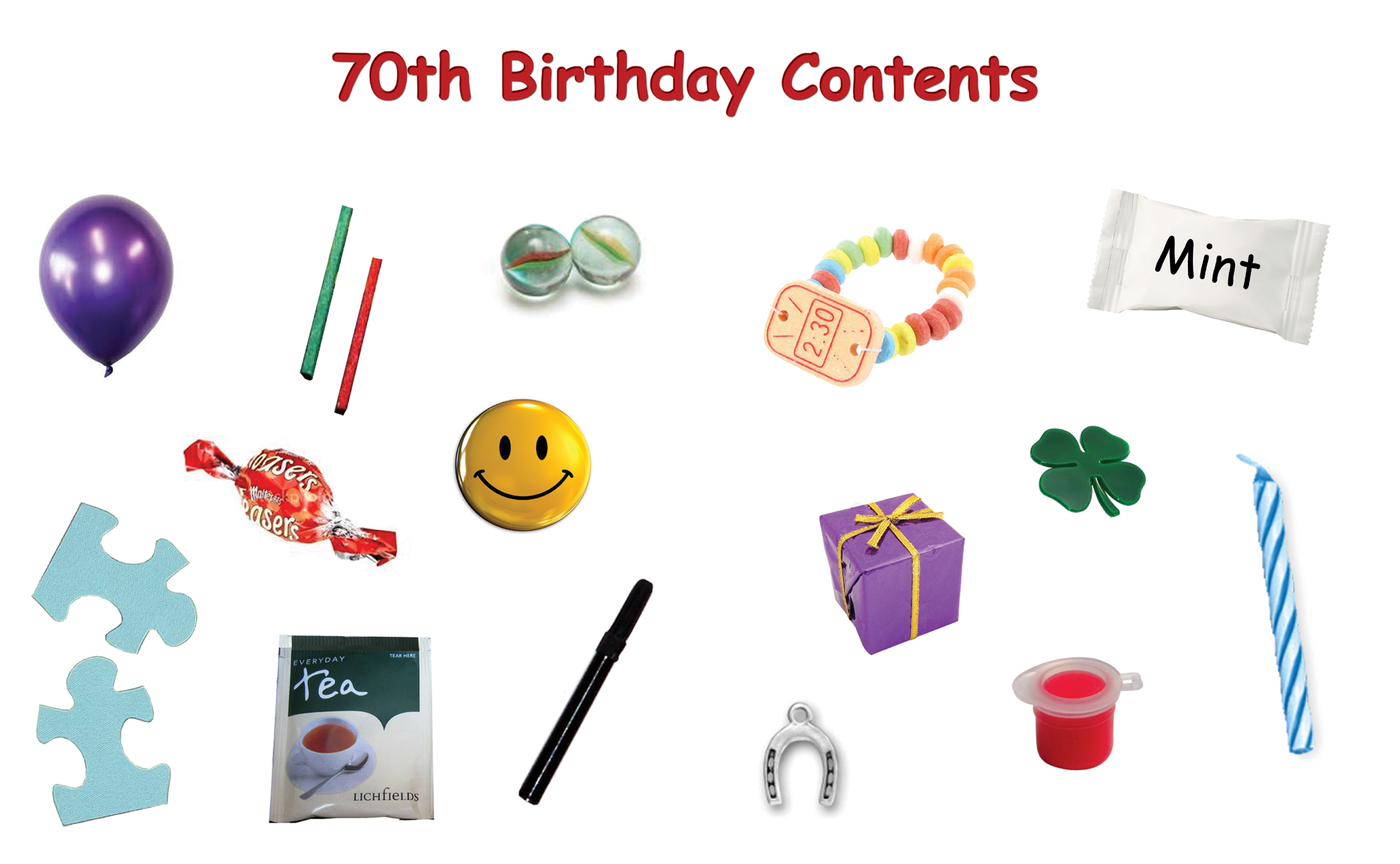 70th Birthday Present Ideas >> 70th Birthday Survival Kit In A Can